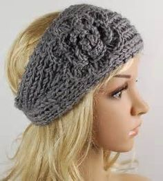 Free Crochet Pattern For Ladies Headband : Headband Pattern on Pinterest