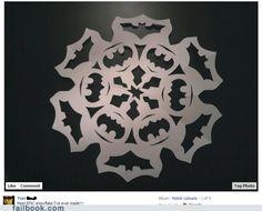 Batman Snowflake! @Terisa Brewer