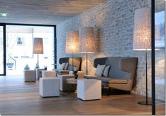 Homey Rustic - Wiesergut Hotel by Gogl & Partners Architekten in Hinterglemm, Austria via Wishful Thinking