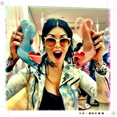 Kat Von D + Melissa Shoes = AWESOMENESS!!