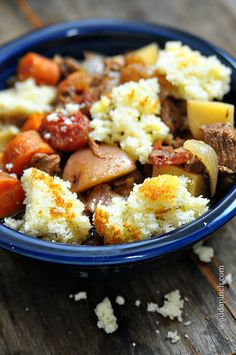 Slow Cooker Beef Stew Recipe from addapinch.com