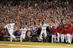 Nelly - Grand Slam - bottom of the 11th....Rangers win 7-3....first grand slam in postseason history!! I LOVE IT!!!!! Plus Rangers take 2 game lead now!!!
