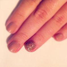 New Year's Eve nail prep