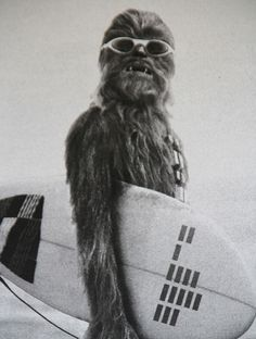 Surfin' Chewbacca #starwars #surfing