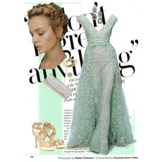 evening, created by nadegdasss on Polyvore featuring the Stella & Dot - Capri Chandelier Earrings in Turquoise