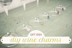 DIY Gift Guide: Wine Charms