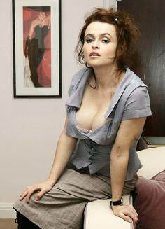 Helena Bonham Carter heaving bosom