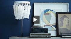 #DIY Feather Lampshade | House & Home | Online TV