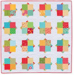 all together now quilt by rachel griffith from the book quilts made with love.