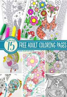 adult coloring pages outdoors - photo#34