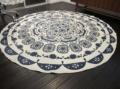 DIY Anthropologie Rug