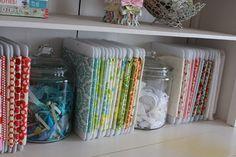 fabric & crafts organization