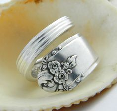 Antique Spoon Ring, Sweetbriar 1948