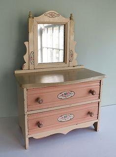 Vintage Doll Dresser