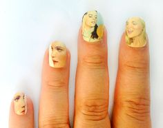 Sweet Valley High Nail Stickers. Elizabeth and Jessica would approve.