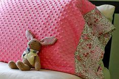 Super Cozy DIY Pillow Case
