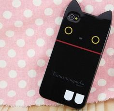 Kutusita Nyanko iPhone 4 Case.  Buy now for only $19.99!