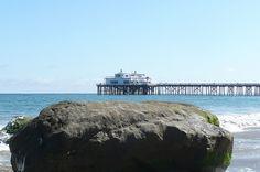Malibu Pier from Carbon Beach