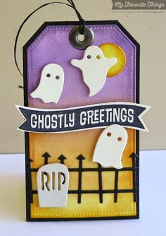 Spooky Sentiments, Pierced Traditional Tag STAX Die-namics, Spooky Scene Die-namics - Melody Rupple #mftstamps