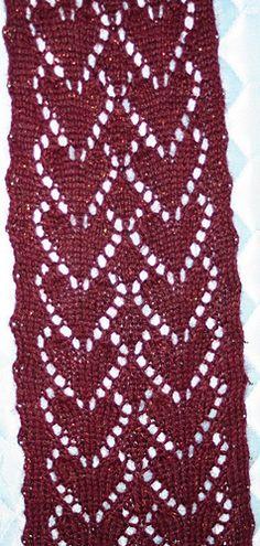 vogu pattern, vogu knit, knitting, crochet, vogue patterns, eyelet heart, knit tricot, knit pattern, heart pattern
