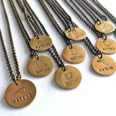 Native State Necklace