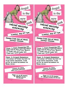 Frugal is the New Pink Flyer Invitation Digital CUSTOM by Jalipeno