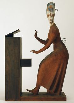 Woman at the Piano  Elie Nadelman