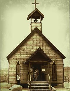 """""""Old Country Church"""" by canaltowntraveler, via Flickr"""