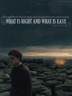 - Albus Dumbledore.