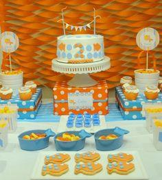 """Photo 1 of 22: Goldfish / Birthday """"Goldfish Birthday Party""""   Catch My Party"""