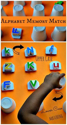 Simple alphabet game for kids