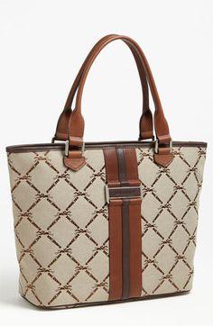Longchamp 'LM Jacquard' Shoulder Bag