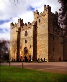 Langley Castle, Northumberland, England