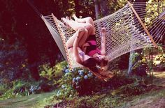 @Ruthanne Blanchard -- remember when we and everyone else broke that hammock? lol