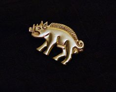 Bronze Boar Richard III Livery Badge