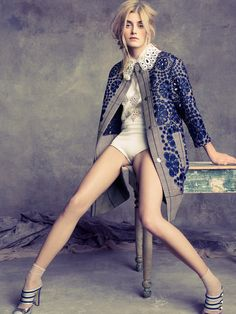 Kori Richardson in Louis Vuitton, photographed by Tesh for Marie Claire US March 2012