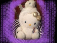 White limited edition Hello Kitty Year of the Snake