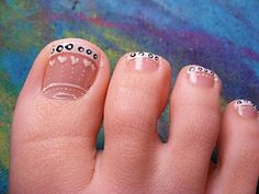 nice toe, french manicures, toe nail art, nail arts, toe nail designs, manicur nail, toe art