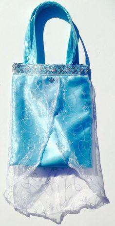 Handmade Disney Frozen Elsa Tote Bag Halloween/trick or treating or everyday!