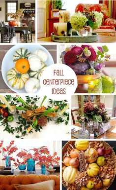 11 DIY Fall centerpieces for you to try.