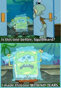 hahaha i love spongebob
