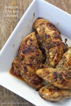 Balsamic Chicken Tenders