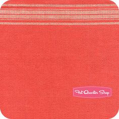 "Rouenneries Deux Turkey Red 16"" Toweling Yardage SKU# 12552-39"