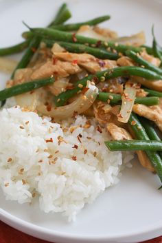 Spicy Thai String Bean Chicken for Two & Giveaway