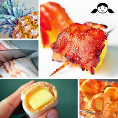 Bacon-Wrapped Pineap
