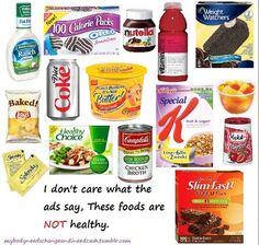 A excepcion de la Nutella, son productos engañosos