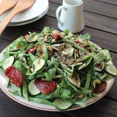 Zucchini & French Bean Salad Recipe