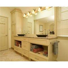 Transitional (Eclectic) Bathroom by Kellie Boyce