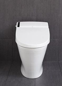 """American Standard's AT200 smart toilet has an automatic lid, a seat with adjustable heating, and a """"soft nightlight"""" around the bowl."""