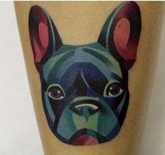 French Bulldog Tattoo.